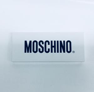 Calzino rosso bi-pack unisex Moschino