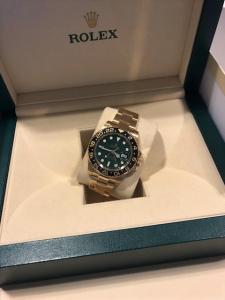 Orologio Rolex secondo polso Gmt master2