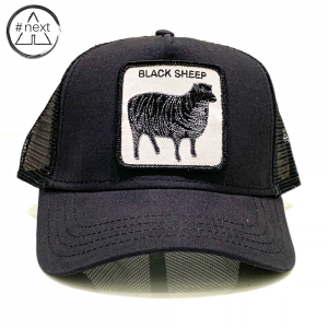 Goorin Bros - Animal Farm Truckers - Black Sheep - nero