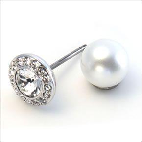 Orecchini Swarovski Angelic perla