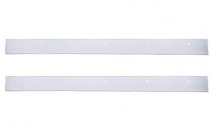 Coppia di 01 - 495 Listello Silicone per spazzola forno 950 W1-018 per Aspirapolvere Ghibli