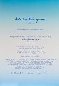 Profumo Salvatore Ferragamo Incanto Pour Homme Blue 100 ml