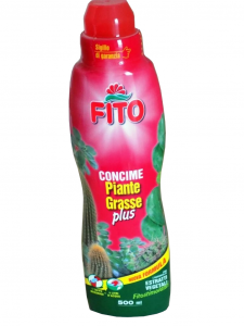 Concime liquido per piante grasse da ml.250, ml.500