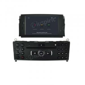 ANDROID 9.0 autoradio navigatore per Mercedes W204 C200 C180 2007-2010 GPS DVD USB WI-FI Bluetooth Mirrorlink