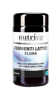 NUTRIVA FLORA INTEGRATORE FERMENTI LATTICI 50 COMPRESSE