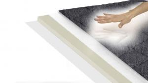 Materassino per Cane Imbottitura in Memory Foam con Rivestimento Grigio Morbido Lavabile Ipoallergenico, Letto Multiuso per Animali Domestici di Taglia Media, Cuccia, Tappeto