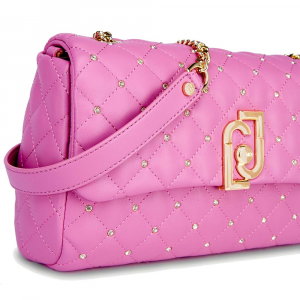 S CROSSBODY - Lj Bag piccola colore Pink bubble - LIU JO
