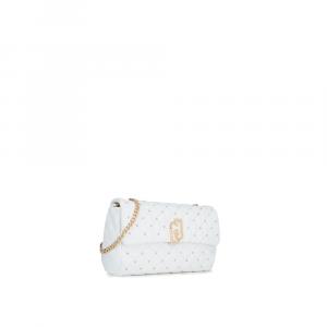 S CROSSBODY - Lj Bag piccola colore bianco - LIU JO