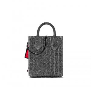 Shopper Stardust Small colore argento - GUM DESIGN