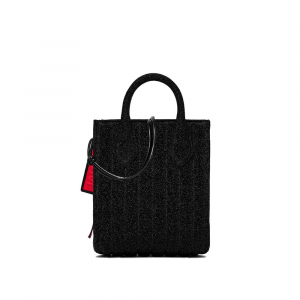 Shopper Stardust Small colore nero - GUM DESIGN