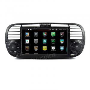 ANDROID 9.0 autoradio navigatore per Fiat 500 Fiat Abarth 500 2007-2015 GPS USB WI-FI Bluetooth Mirrorlink