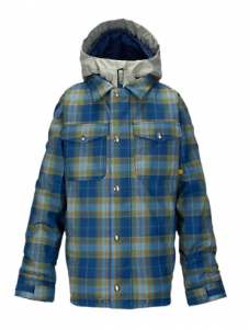 Giacca Snowboard Burton KIDS Uproar Boro Miked Plaid