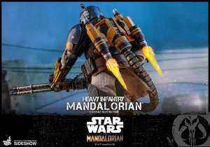 Star Wars The Mandalorian Action Figure 1/6 - Heavy Infantry Mandalorian by Hot Toys