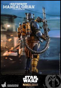 Star Wars The Mandalorian Action Figure 1/6 - Heavy Infantry Mandalorian