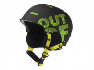Casco Snowboard Out Of Black Yellow