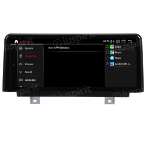 ANDROID 9.0 navigatore per BMW Serie 3 F30 F31 F34, BMW serie 4 F32 F33 F36 2013-2017 Sistema originale NBT 10.25 pollici WI-FI GPS 4G LTE Bluetooth MirrorLink