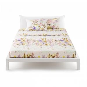 Bed linen set Bassetti double Nopales Cactus v5