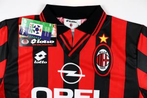 1995-96 Ac Milan Maglia Home S/M/XL *Nuova