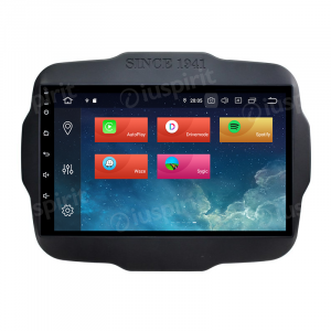 ANDROID 10 autoradio navigatore per Jeep Renegade 2014-2019 GPS WI-FI Bluetooth MirrorLink