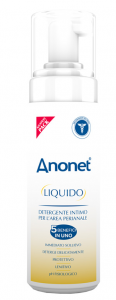 ANONET BOX SET: LIQUID DETERGENT SOAP SUBSTITUTE FREE OF AGGRESSIVE SUBSTANCES + INTIMATE CLEANSING WIPES