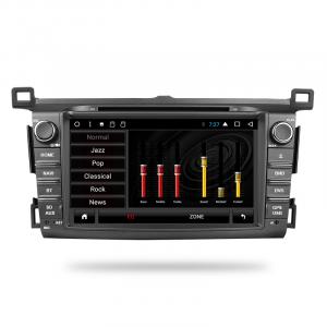 ANDROID autoradio 2 DIN navigatore per Toyota RAV4 2013 2014 2015 GPS DVD WI-FI Bluetooth MirrorLink