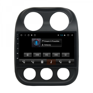 ANDROID autoradio navigatore per Jeep Compass, Jeep Patriot 2009-2016 GPS WI-FI Bluetooth MirrorLink