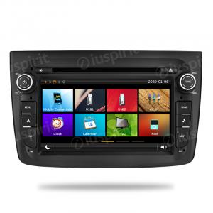 Autoradio navigatore Alfa Romeo Mito 2008-2014 GPS DVD USB SD Bluetooth 7 pollici