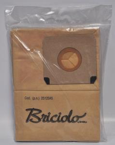 SACCHETTI CARTA PER ASPIRAPOLVERE BRICIOLO COD 2512045 quantità 10 per confezione GHIBLI