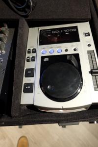 USATO! CONSOLLE DJ PIONEER CDJ100S - MIXER ECLER NUO2 BORSA