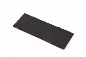 Vassoio rettangolare in Ardesia naturale cm.25x10x1h