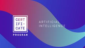 Artificial Intelligence Certificate Program
