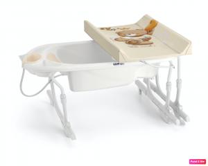Bagnetto fasciatoio Idro Baby estraibile Cam