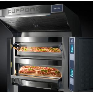 Forno Pizza Professionale Angolare Cuppone Caravaggio 5+5 x ø35 cm