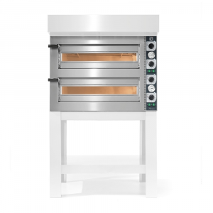 Forno Pizza Professionale Cuppone Tiziano 4+4 x ø30 cm