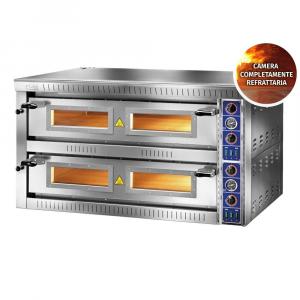 Forno Pizza Professionale GAM SB66G TOP - 6+6 x Ø 34 cm