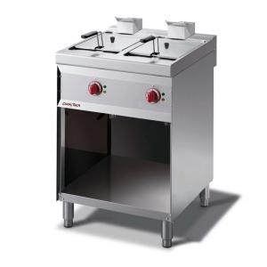 Friggitrice Elettrica Mod. CT76EDF Cook|Tech by Giga 2 Vasche 9+9 l - Prof. 70