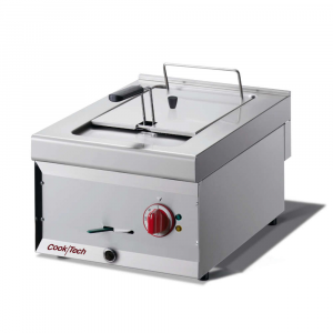 Friggitrice Elettrica da Banco Mod. CT64EF Cook|Tech by Giga - Vasca 8 lt - Dim. 40 x 60 x 27 h