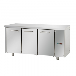 Tavolo Refrigerato Positivo Tecnodom 3 Porte GN 1/1 Senza Motore
