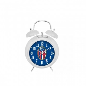 Bologna Fc ALARM CLOCK WITH OFFICIAL CREST