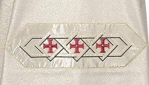 Dalmatica bianca D133AM2