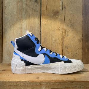 Scarpa Nike Blazer Mid SACAI Bianca Blu e Azzurra