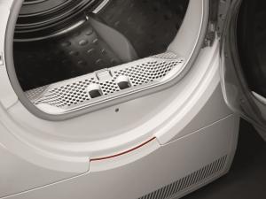 AEG T8DEC856 asciugatrice Libera installazione Caricamento frontale Argento, Bianco 8 kg A+++
