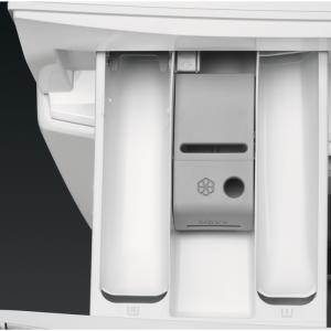 AEG L9WEC169K Libera installazione Carica frontale A Nero, Argento, Bianco