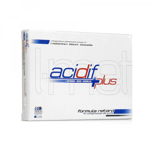 ACIDIF PLUS - INTEGRATORE A BASE DI L-METIONINA E BOSWELLIA 14 COMPRESSE