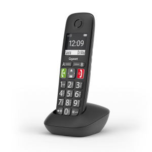 Gigaset E290 Telefono analogico/DECT Nero Identificatore di chiamata