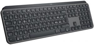 Logitech MX Keys tastiera RF Wireless + Bluetooth QWERTY Italiano Nero