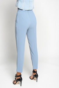SHOPPING ON LINE PINKO PANTALONI VITA ALTA IN CRÊPE STRETCH NATALIA 3 NEW COLLECTION WOMEN'S SPRING SUMMER 2020