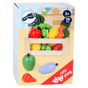 Cassetta Mercato rionale Frutta Bancarella