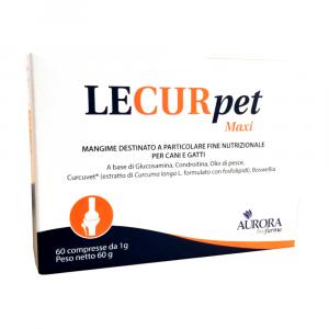 LECURPET MAXI  60 cpr - supporto al metabolismo articolare per cani e gatti