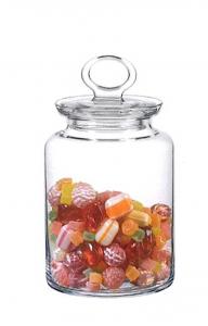 Barattolo in vetro con coperchio LT 1 cm.18,1h